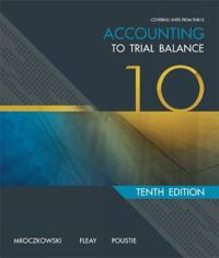 RTO Accounting: To Trial Balance