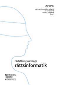 Författningssamling i rättsinformatik : 2018/19