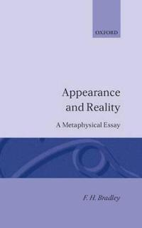 Appearance and Reality