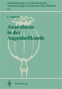 Anaesthesie in der Augenheilkunde