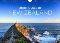 Lighthouses of New Zealand (Wall Calendar 2019 DIN A4 Landscape)