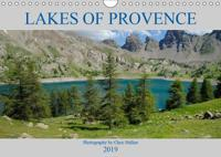 Lakes of Provence (Wall Calendar 2019 DIN A4 Landscape)
