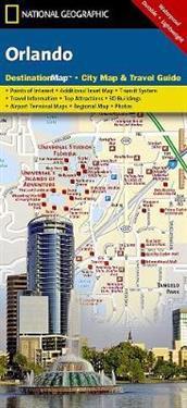 Orlando National Geographic Maps Kartta Viikattu