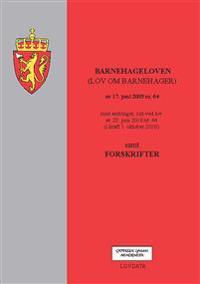 Barnehageloven -  pdf epub