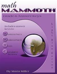 Math Mammoth Grade 6 Answer Keys