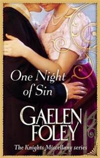 One night of sin - number 6 in series