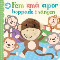 Fem små apor hoppade i sängen -  pdf epub