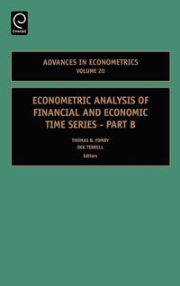 Econometric Analysis of Financial And Economic Time Series