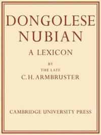 Dongolese Nubian