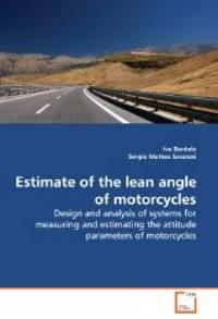 Estimate of the Lean Angle of Motorcycles