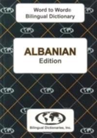 English-albanian & albanian-english word-to-word dictionary - suitable for