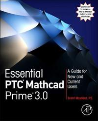 Essential PTC Mathcad Prime 3.0