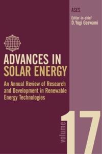 Advances in Solar Energy
