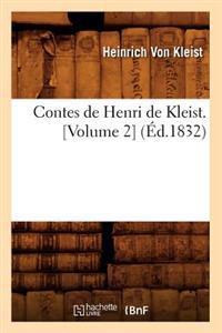 Contes de Henri de Kleist. [volume 2] (�d.1832)