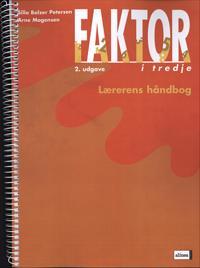 Faktor i tredje-Lærerens håndbog