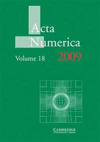 Acta Numerica Acta Numerica 2009: Series Number 18