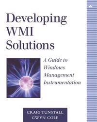 Developing Wmi Solutions