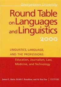 Georgetown University Round Table on Languages and Linguistics 2000