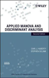 Applied Manova and Discriminant Analysis
