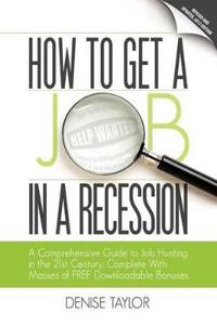 How to Get a Job in a Recession