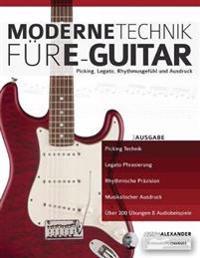 Moderne Technik für E-Gitarre
