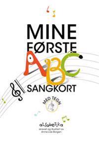 Mine første ABC sangkort - Anne-Lise Borgen pdf epub