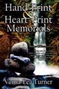 Hand-print and Heart-print Memorials