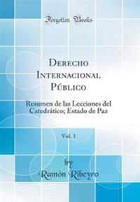 Derecho Internacional Público, Vol. 1