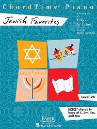Chordtime Piano Jewish Favorites: Level 2b