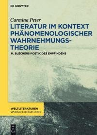 Literatur im Kontext phanomenologischer Wahrnehmungstheorie