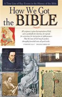 How We Got the Bible Pamphlet: A Time Line of Key Events in the History of the Bible