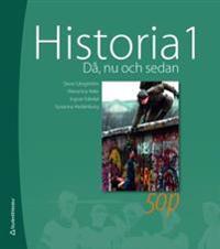 Historia 1 : du, nu och sedan - Weronica Ader, Ingvar Ededal, Susanna Hedenborg, Sture Långström pdf epub
