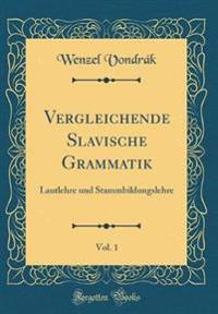 Vergleichende Slavische Grammatik, Vol. 1
