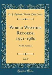 World Weather Records, 1971-1980, Vol. 1