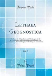 Lethaea Geognostica, Vol. 3
