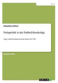 Preispolitik in der Fußball-Bundesliga