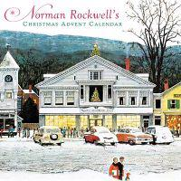 Norman Rockwell's Advent Calendar