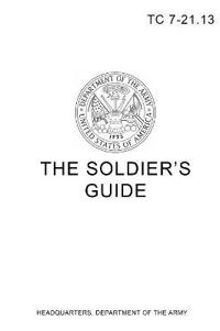 Tc 7-21.13 the Soldier's Guide
