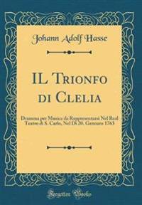 IL Trionfo di Clelia
