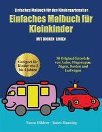 Einfaches Malbuch F r Das Kindergartenalter