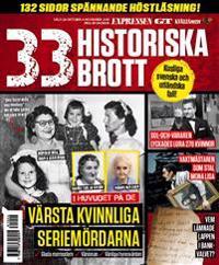 33 historiska brott