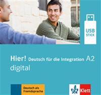 Hier! A2 digital. Lehrwerk digital auf USB-Stick