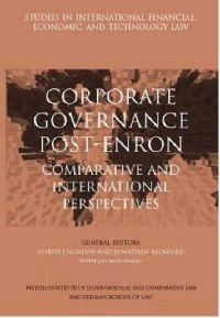 Corporate Governance Post-Enron