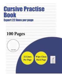 Handwriting Workbooks (Expert 22 Lines Per Page)