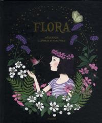 Flora : målarbok