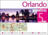 Orlando Popout Map Popout Maps Kartta Viikattu 9781910218792