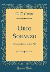 Orio Soranzo