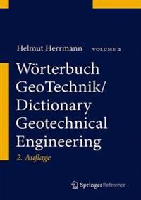 Worterbuch GeoTechnik/Dictionary Geotechnical Engineering
