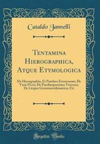 Tentamina Hierographica, Atque Etymologica