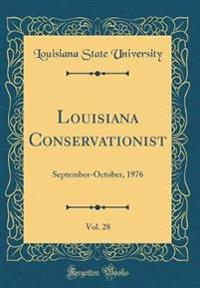 Louisiana Conservationist, Vol. 28